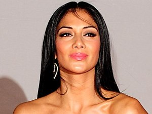 Nicole Scherzinger arriving for the 2012 Brit Awards at The O2 Arena, London