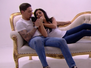The Only Way is Essex 25-02-12: Lucy and Mario's photoshoot