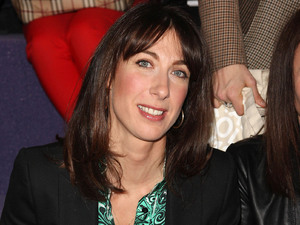 Samantha Cameron - London Fashion Week - Autumn/Winter 2012 - Christopher Kane 