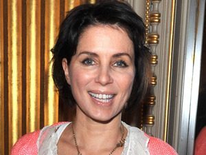 Sadie Frost at the London Fashion Week Autumn/Winter 2012 - Vivienne Westwood Red Label - Front Row
