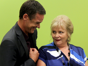 Stefan Dennis & Colette Mann from Neighbours