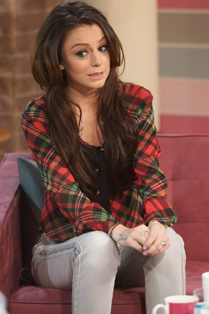 Cher Lloyd appearing on 'This Morning'