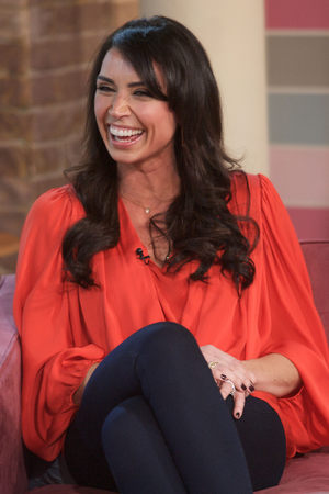 Christine Bleakley appearing on 'This Morning'