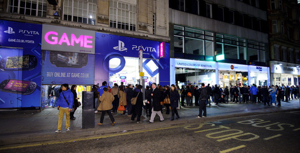 GAME Oxford St, PlayStationVita