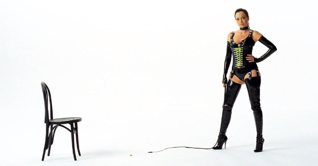 Wonderful Pistachios dominatrix advert