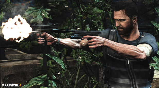 'Max Payne 3' PC version screenshot.