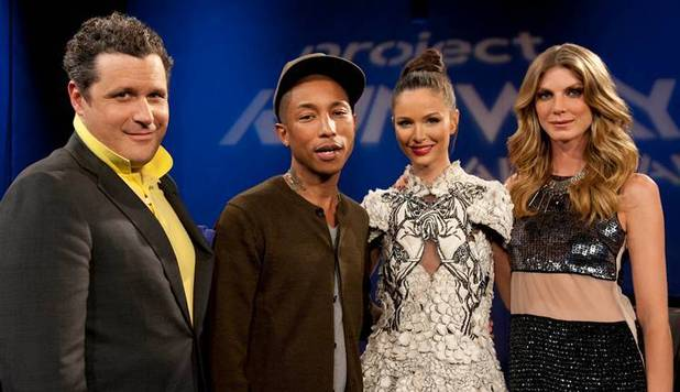 Pharrell Williams guest judges Project Runway: All Stars