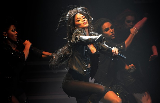 Nicole Scherzinger in concert, Hammersmith Apollo, London