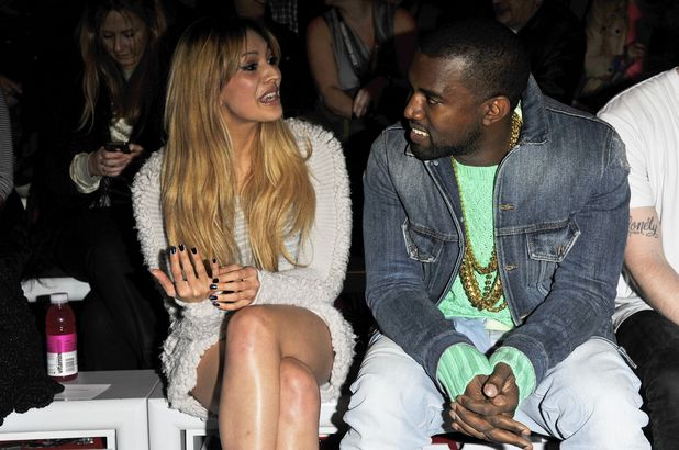 Zara Martin and Kanye West - London Fashion Week - Autumn/Winter 2012 - Mark Fast