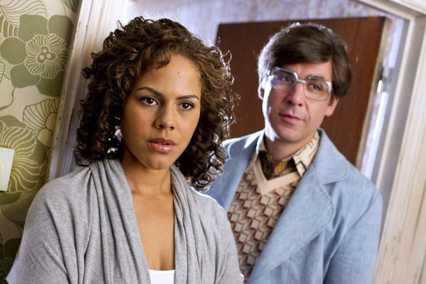 Being Human S04E04: Annie (Lenora Crichlow), Kirby (JAMES LANCE)