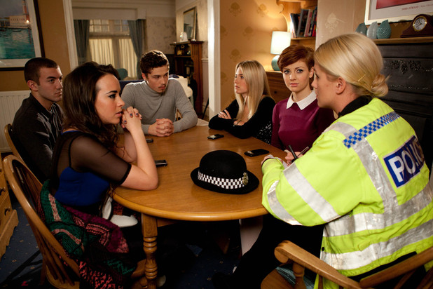 Hollyoaks 3295: Bart, Sinead, Callum, Maddie and Tilly