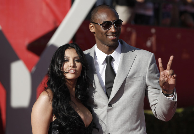 Kobe Bryant and Vanessa Laine Bryant 