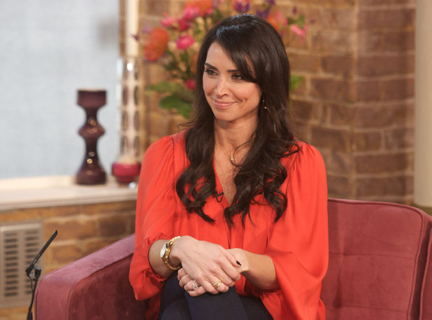 Christine Bleakley appearing on &#39;This Morning&#39;