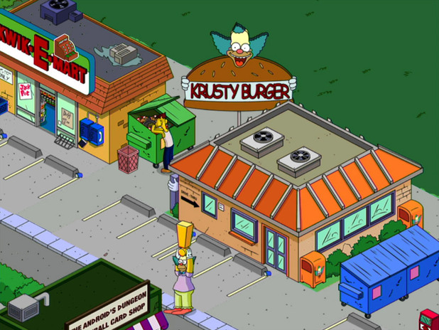'The Simpsons: Tapped Out' screenshot
