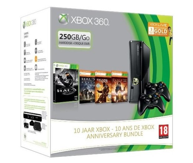 X Box 10 year anniversary bundle