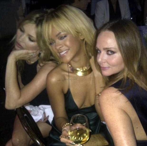 Rihanna, Kate Moss, Stella McCartney