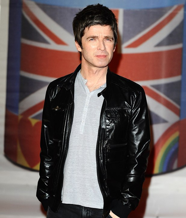 Noel Gallagher arriving for the 2012 Brit Awards at The O2 Arena, London