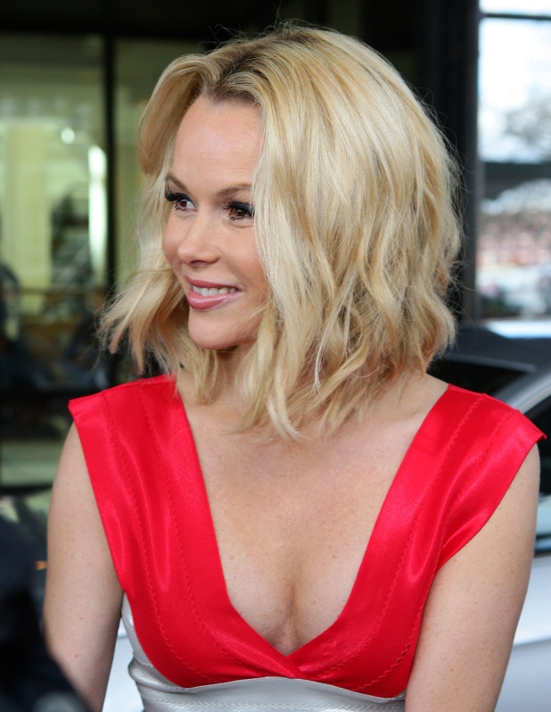 Amanda Holden at the 'Britain's Got Talent' auditions in Birmingham