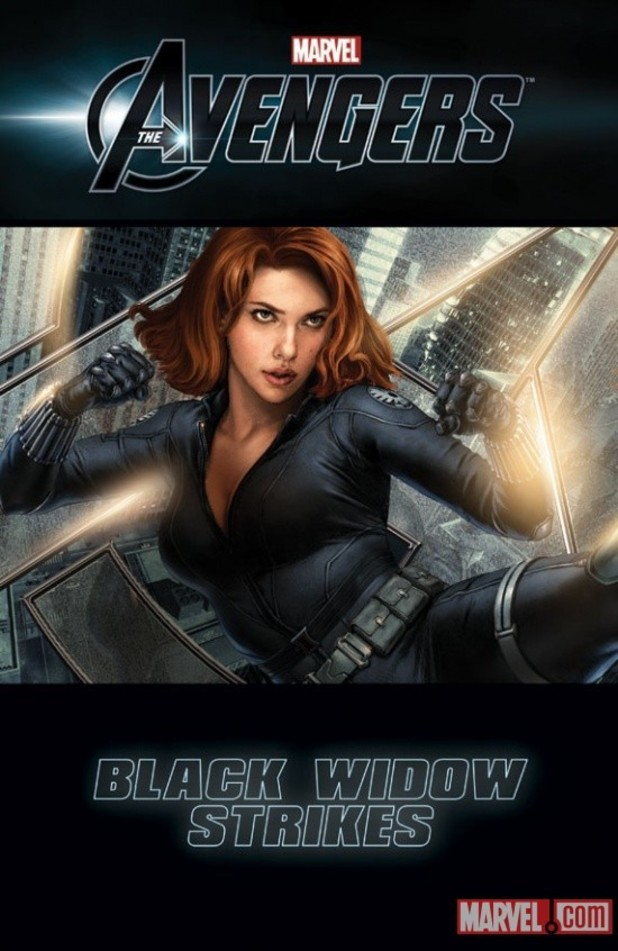 'The Avengers: Black Widow Strikes' artwork