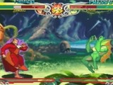 Screenshot from Darkstalkers 3