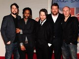 Elbow arriving for the 2012 Brit Awards at The O2 Arena, London