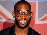 Tinie Tempah arriving for the 2012 Brit Awards at The O2 Arena, London