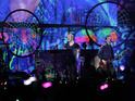 "Coldplay guitarist Jonny Buckland hails ""magical"" effect of light-up wristbands."