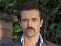 Emmett Scanlan teases the flashback scenes ahead in Hollyoaks Later.