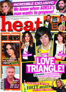 DOI judge Louie Spence in Heat magazine