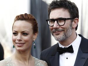 Oscars 2012 - Berenice Bejo and Michael Hazanavicius
