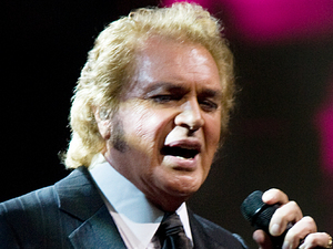 Engelbert Humperdinck performing at the Liverpool Philharmonic Hall as part of his UK tour