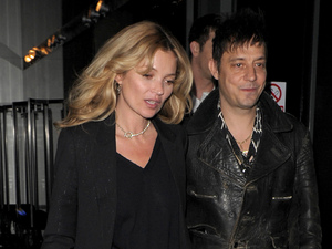 Kate Moss and Jamie Hince The NME Awards afterparty at the W Hotel
