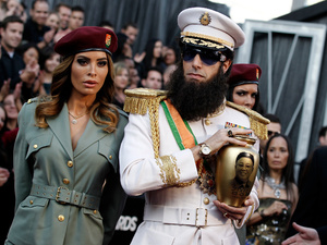 Sacha Baron Cohen, Oscars 2012, The Dictator