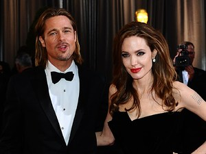 Bard Pitt, Angelina Jolie, Oscars 2012