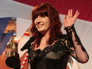 Florence Welch, NME Awards 2012