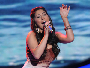 American Idol Season 11 - Top 12 Girls - Performances - Brielle Von Hugel