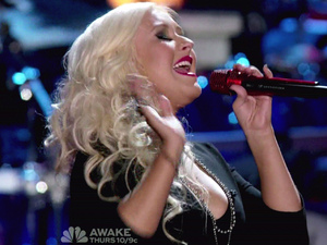 Christina Aguilera NBC's 'The Voice' Season 2, Episode 5
