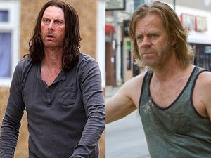 William H Macy, David Threlfall, Shameless