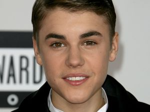 Justin Bieber at the American Music Awards, Arrivals, Los Angeles, America - 20 Nov 2011