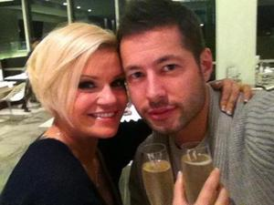 Kerry Katona and new love Steve Alce