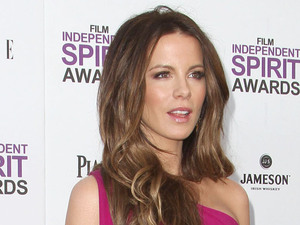 Kate Beckinsale 27th Annual Independent Spirit Awards- Arrivals- Santa Monica Beach Los Angeles, California