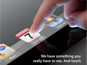 Apple iPad Event Invitation