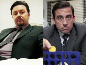 Ricky Gervais, Steve Carell, The Office