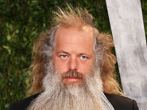 Rick Rubin 2012 Vanity Fair Oscar Party at Sunset Tower Hotel - Arrivals