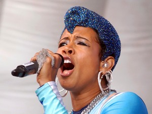 Kelis performs live at Bristol Gay Pride in Castle Park Bristol, England - 16.07.11 Mandatory Credit: WENN.com