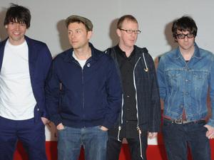Blur at Brit Awards at O2 Arena, London, England- 21.02.12