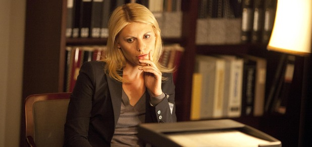 Clare Danes as Carrie Mathison in Homeland episode 3