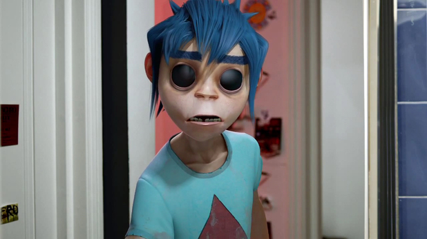 Gorillaz 'DoYaThing' video still