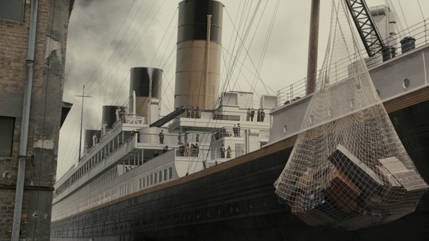 Titanic: Exterior of Titanic