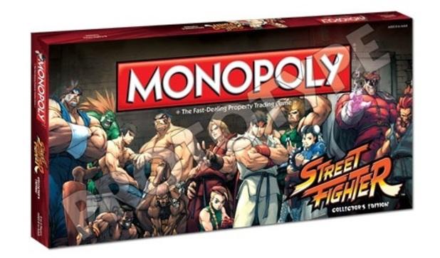 Street Fighter Monopoly box